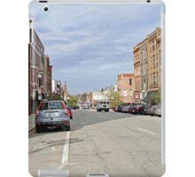 Looking Up Main Street iPad Case/Skin