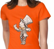 The Mad Hatter - Alice in Wonderland Womens Fitted T-Shirt