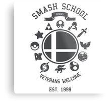 Smash School - Smash Veteran Metal Print