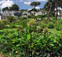 Queen Mary Gardens, Falmouth Sticker