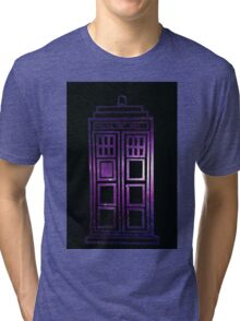 Galaxy TARDIS Tri-blend T-Shirt