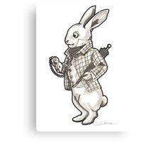 The White Rabbit - Alice in Wonderland Canvas Print