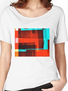 Red Layer Women's Relaxed Fit T-Shirt
