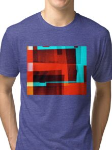 Red Layer Tri-blend T-Shirt