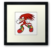 """Mr. Echidna"" Framed Print"