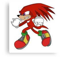 """Mr. Echidna"" Canvas Print"