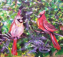 Kentucky Cardinals by Gretchen Smith by Gretchen Smith