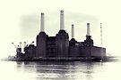 Battersea Power Station Vintage by Jasna