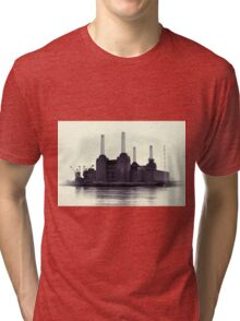 Battersea Power Station Vintage Tri-blend T-Shirt