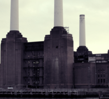 Battersea Power Station Vintage Sticker