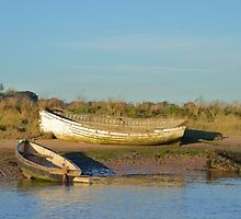 Old Wooden Boats by Malcolm Snook