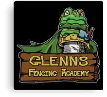 Glenns Fencing Academy  Canvas Print