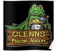 Glenns Fencing Academy  Poster
