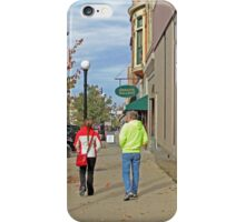 Taking a Stroll iPhone Case/Skin