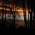 Skyfire - sunset on New Years Eve by Rivendell7