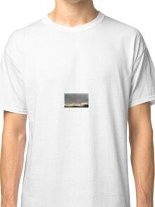 Light & Dark Gray Clouds Sky Sunset  Classic T-Shirt