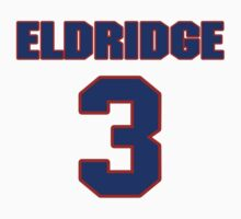 Basketball player Eldridge Recasner jersey 3 by imsport