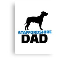 Staffordshire Dad Canvas Print