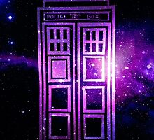 Galaxy TARDIS by lotifer