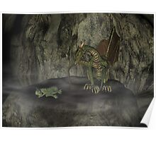 Dragon cave Poster