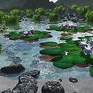 Water lilies by Annika Strömgren