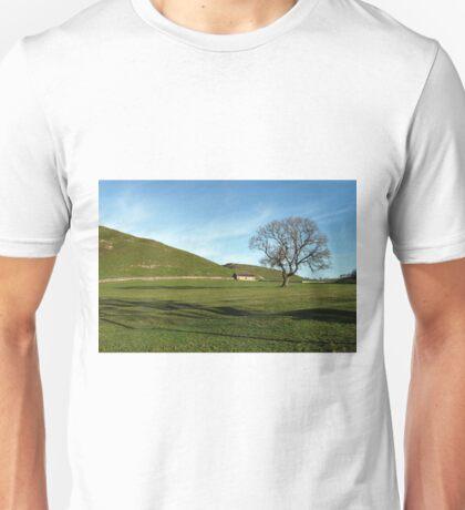 Pasture Land at Thorpe, Derbyshire Unisex T-Shirt
