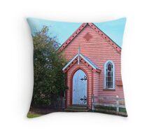 Nile Church Throw Pillow
