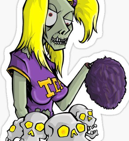 The Cheering Cadaver Sticker