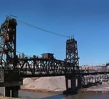 Tressels Over the Cuyahoga and Under the Interstate by MClementReilly