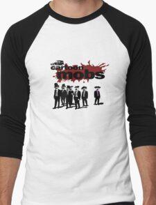 Cartoon Mobs Men's Baseball ¾ T-Shirt