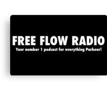 Free Flow Radio #1 Canvas Print