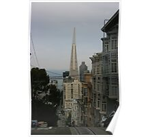 Dropping In On San Francisco Poster