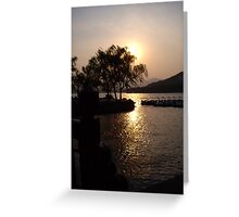 Summer Palace Sunset 1 Greeting Card