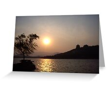 Summer Palace Sunset 2 Greeting Card