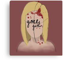 Amazing Amy - Gone Girl Canvas Print