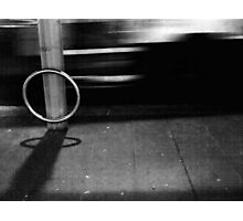 Play 'Beat The Bus' Wit Me? Photographic Print