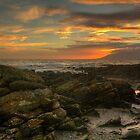 Sunset from Tyrella by Jon Lees