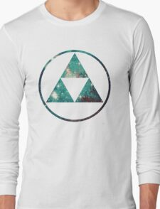 Galaxy - Triforce Long Sleeve T-Shirt