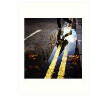 charing cross road ,london Art Print