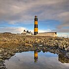 St. John's Point Lighthouse County Down by Jon Lees