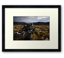 Alpine Way Framed Print