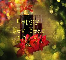 Happy New Year 2015 by Linda Miller Gesualdo