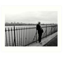 Central Park Gloom Art Print