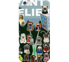 PUG FILES iPhone Case/Skin