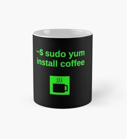 Linux sudo yum install coffee Mug