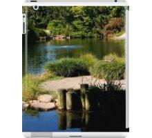 The Serenity of a Garden Pond    ^ iPad Case/Skin