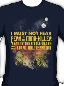 Litany Against Fear T-Shirt
