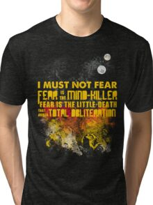 Litany Against Fear Tri-blend T-Shirt