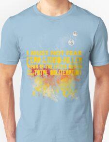 Litany Against Fear T-Shirt