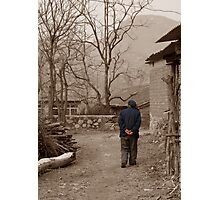 Morning Stroll Photographic Print